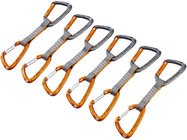 Skylotec Flint Express Mix Quickdraw Set 11cm 6 Pieces light grey/orange